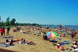 Fairport Harbor Lakefront Park Beach Via Lake County Visitors Bureau