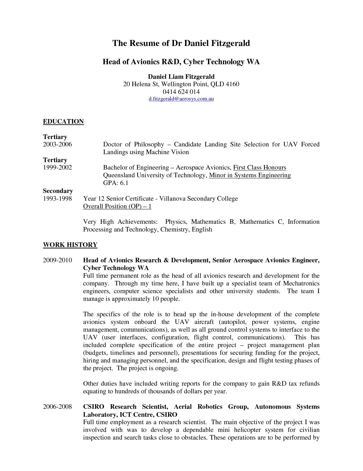 technology resume tips samples free example and examples