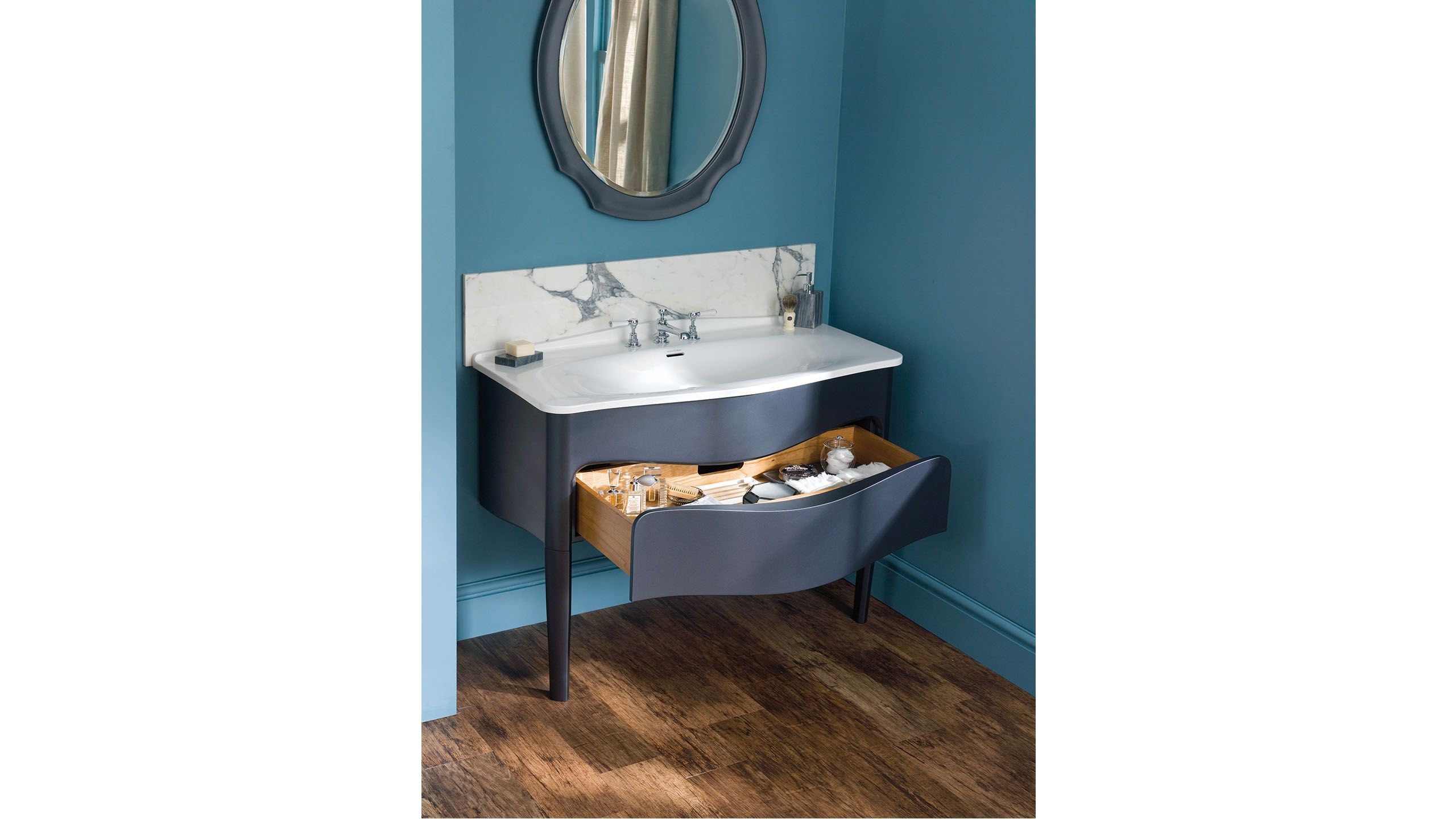 The Mandello 114 is perfect for compact spaces - bathroom storage ...
