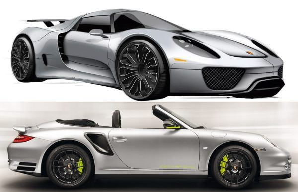Porsche 918 Hybrid Spyder Price 161 650 173 050 The Car Which Was Unveiled A Few Years Ago Will Not Be Deli Porsche 918 Hybrid Hybrid Car Porsche 918