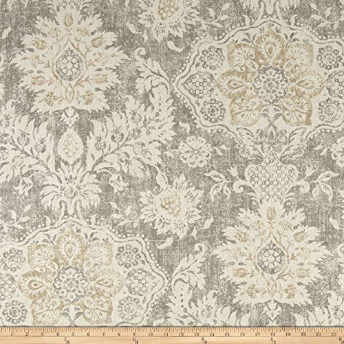 Magnolia Home Fashions Belmont Mist Fabric By The Yard Ma