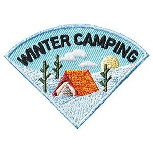 Photo of Winter Camping Patch – Wedge