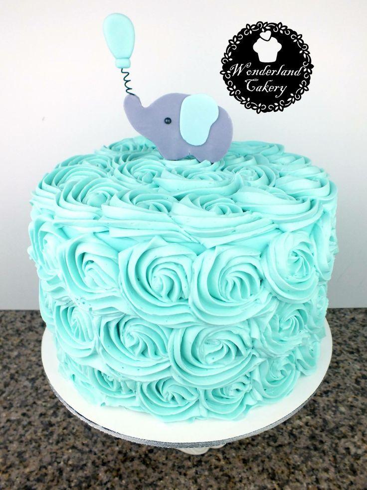 Pasteles Para Baby Shower Nino : pasteles, shower, Shower, Cake., Shower., Buttercream., Elephant., #cake, #wonderlan…, Pastel, Elefante,, Pasteles, Niña,, Niño, Ositos