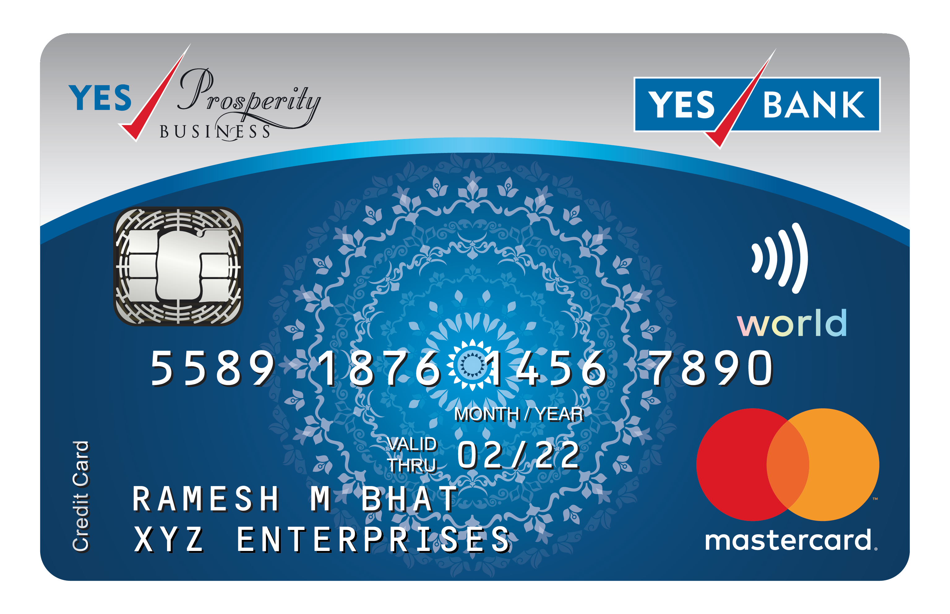 Yes Prosperity Business Card In 2021 Credit Card App Small Business Credit Cards Credit Card Website