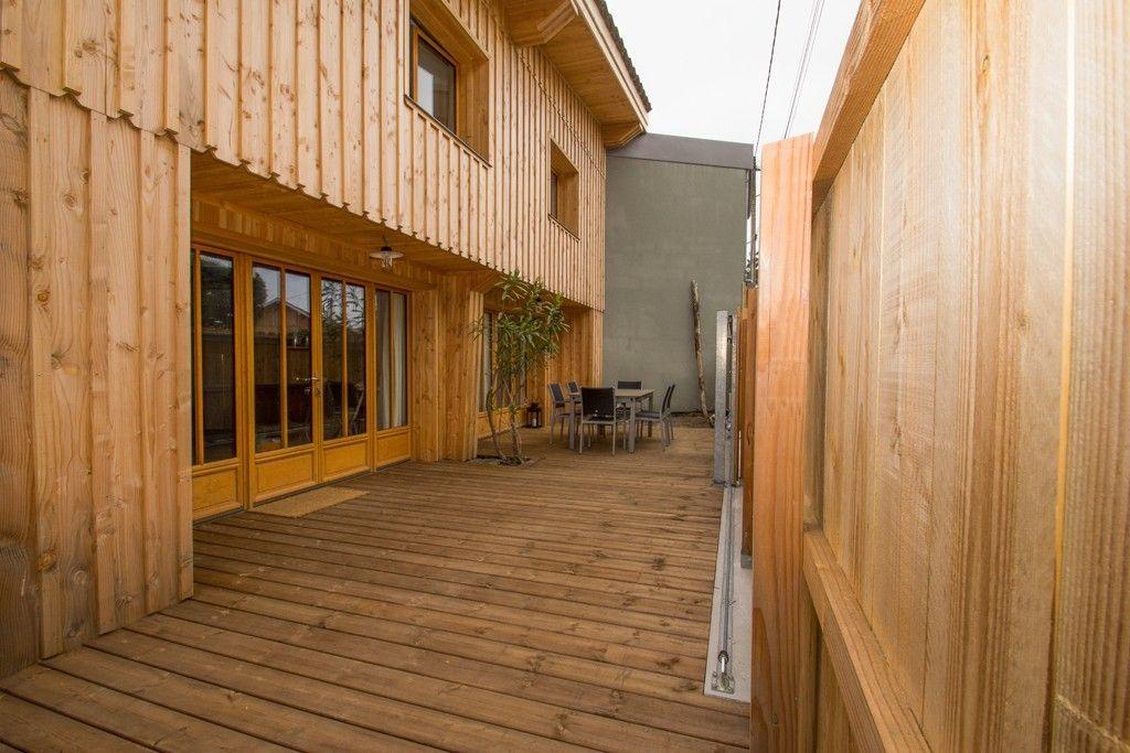 Maison en bois contemporaine Maisons de rêve en Bois Pinterest