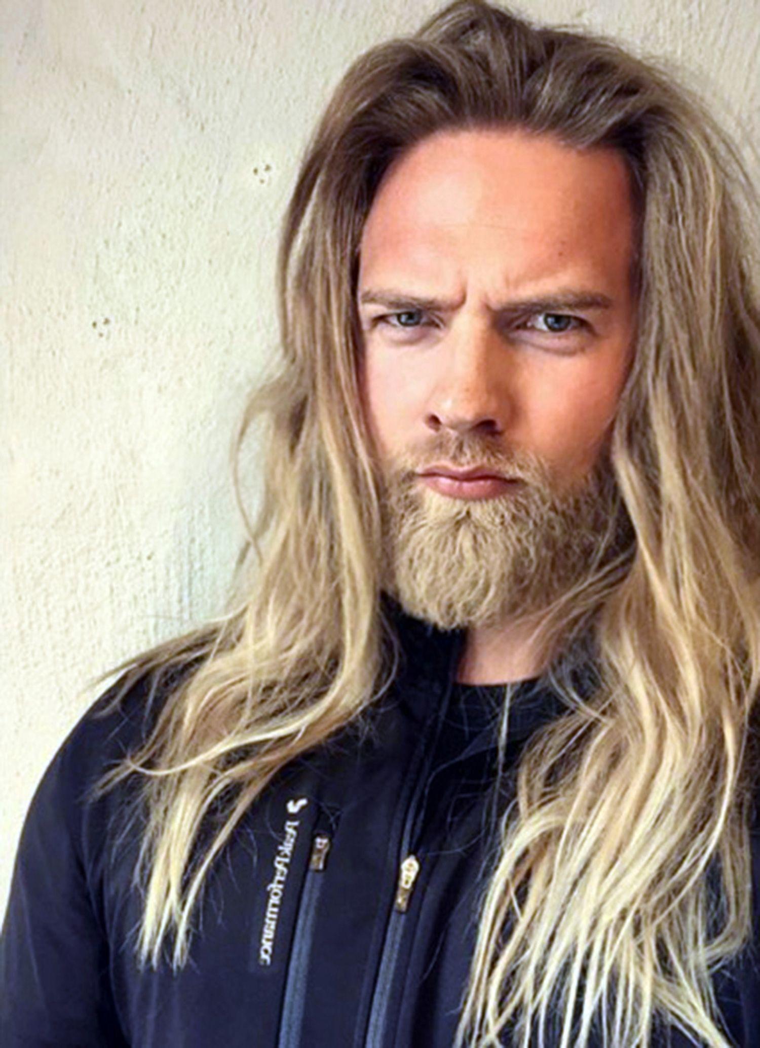 Norwegian Navy officer has Instagram lusting thanks to his Viking