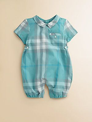 f7c7b5b8e55b Burberry Infant s Check Shortall