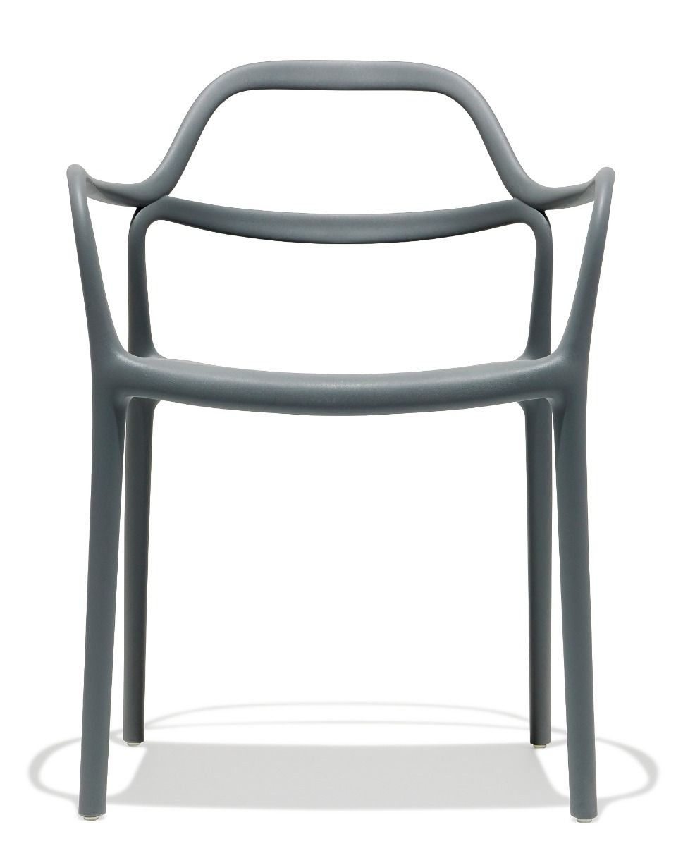 Ripple Chair Grey Chair Metal Patio Chairs Dining Chairs