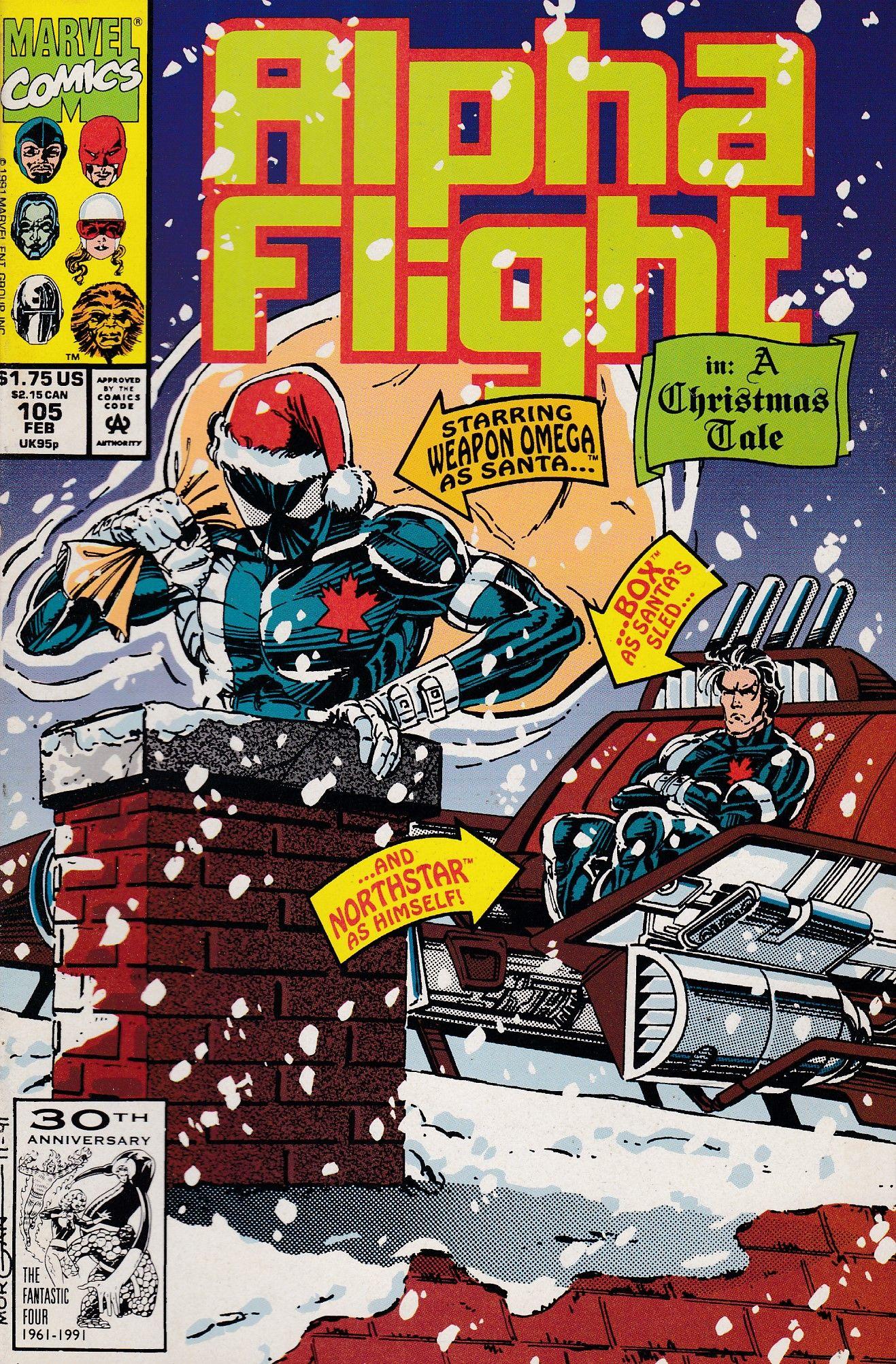 Alpha Flight 105 Marvel Comics Vol. 1