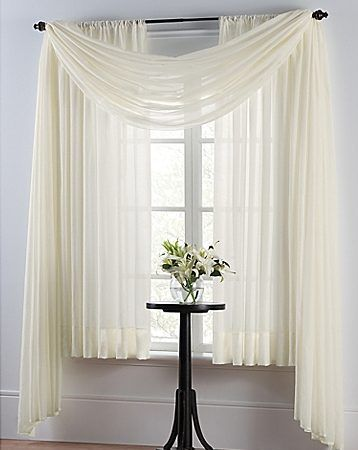Cortinas blancas modernas cortinas pinterest for Cortinas visillo modernas