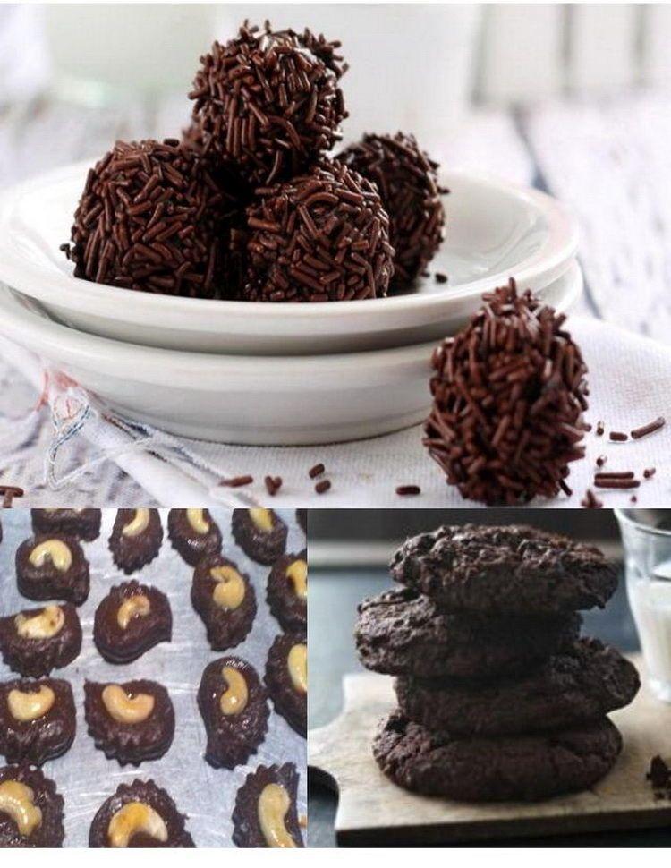 Macam Macam Resep Kue Kering Coklat Terbaru Untuk Kue Lebaran Sederhana Lengkap Dengan Tips Cara Membuat Kue Coklat Kering Su Membuat Kue Coklat Kue Kering Kue