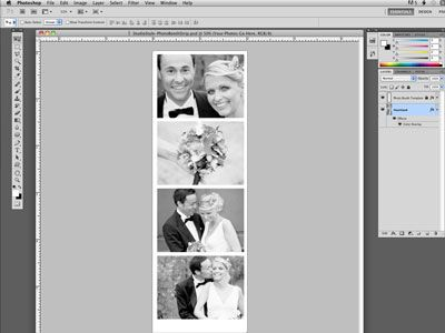 Diy Free Photo Booth Strip Template Download Photobooth