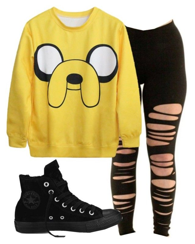 """""""Untitled #43"""" by dude-iloveyouxo ❤ liked on Polyvore featuring Converse"""