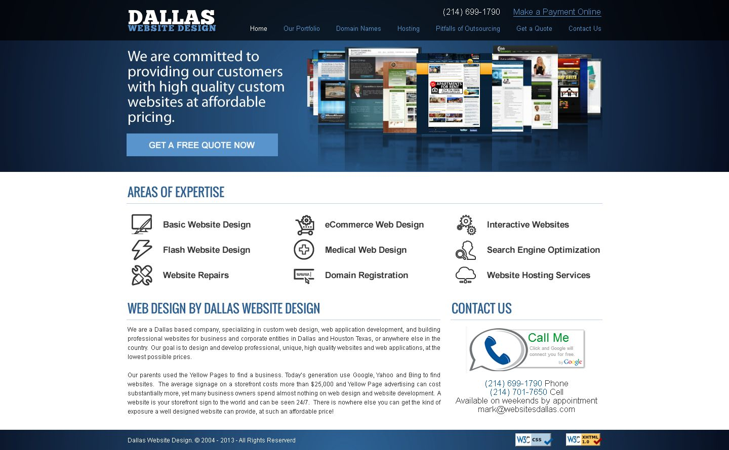Are You Planning To Enter The World Of Online Marketing Then Dallas Website Design Can Help You Wit Basic Website Design Interactive Websites Website Services