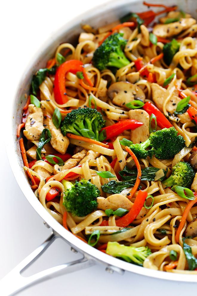 Photo of 30-Minute Sesame Chicken Noodle Stir-Fry   Gimme Some Oven