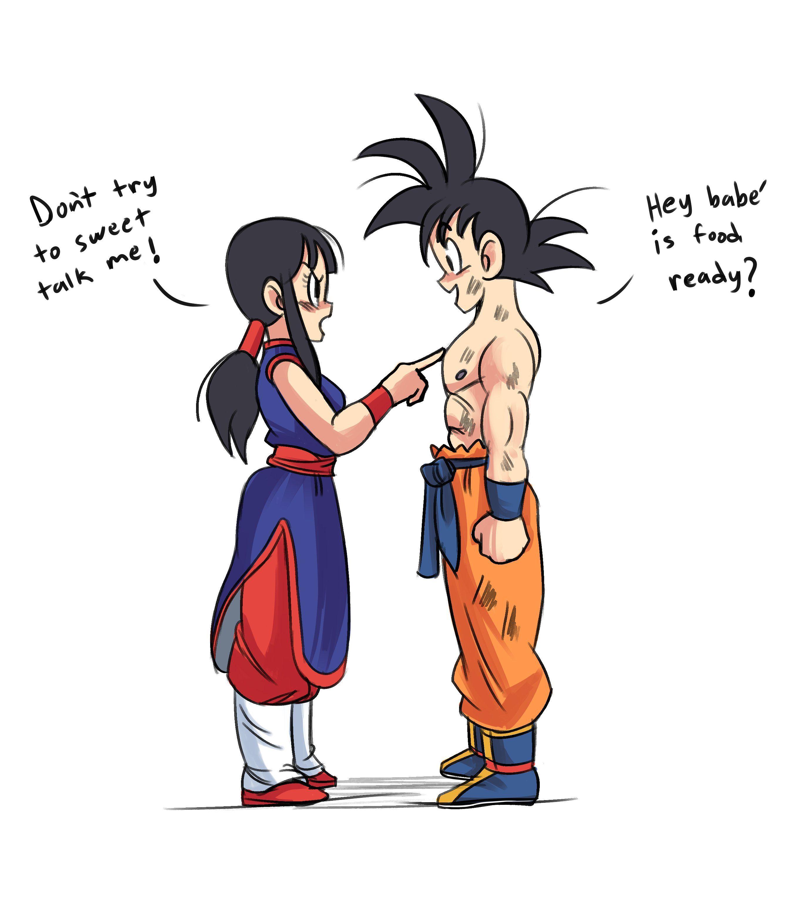 Goku Chichi Fan Art