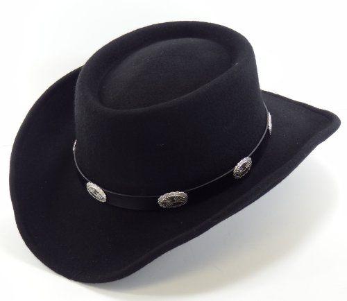 b3f636c6 Stevie Ray Vaughan Black Wool Gambler Hat L Was: $69.99 Now: $59.99 ...