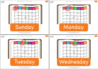 Practice the days of the week with flashcards from Super Simple ...