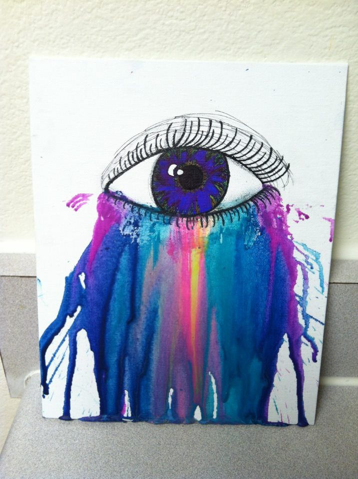 melted crayon art ideas images of melted crayon art