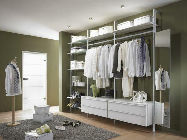 Ankleidezimmer Schrank ~ Kleiderschrank offenes design im großes ankleidezimmer hemden in