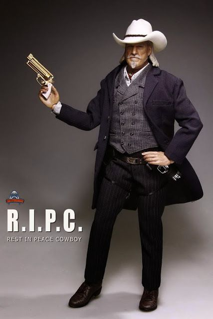 toyhaven: Art Figures AF-017 1/6th R.I.P.C. Rest In Peace Cowboy is R.I.P.D. Roy Pulsifer (Jeff Bridges)