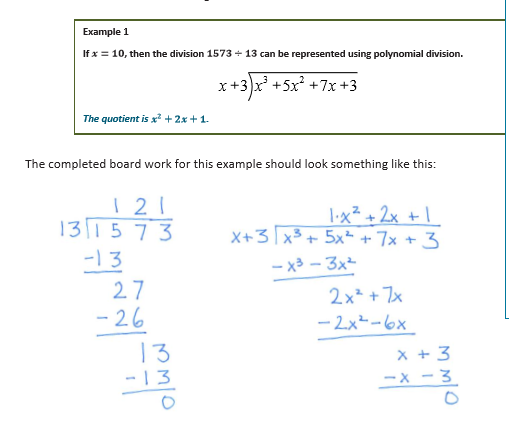 This Eureka Math lesson (M1 L4) beautifully connects long division