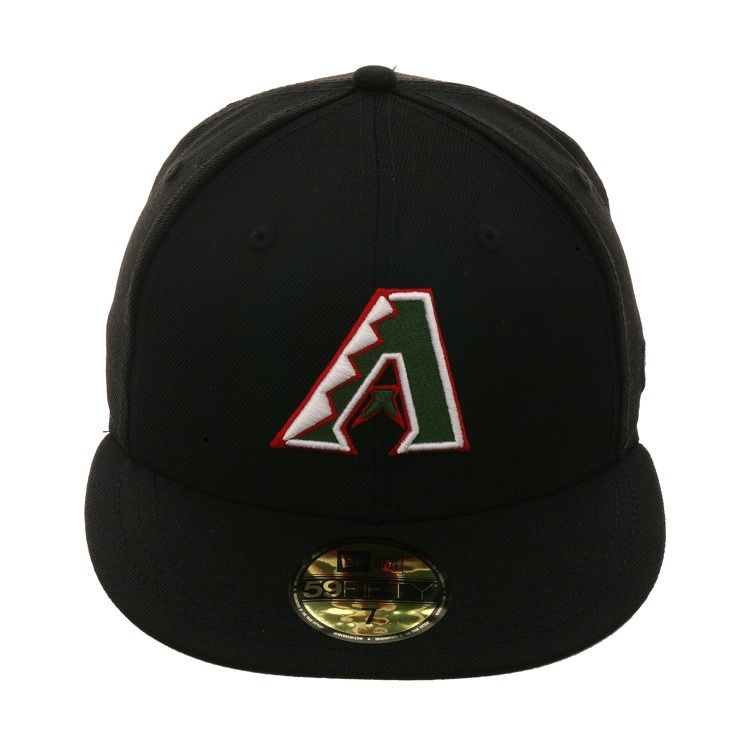 a56f644ed20 Exclusive New Era 59Fifty Arizona Diamondbacks A Hat - Black