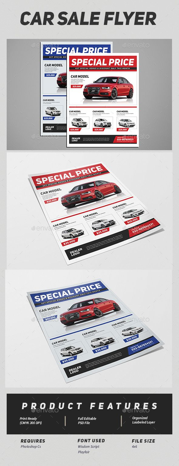 Car Sale Flyer | Pinterest | Sale flyer, Cars and Creative flyers