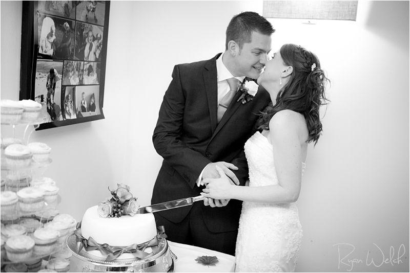 Cutting the Cake -- Winter Wedding -- UK