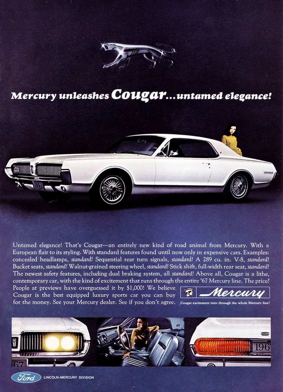Gone, but not forgotten – Mercury's Cougar turns 50