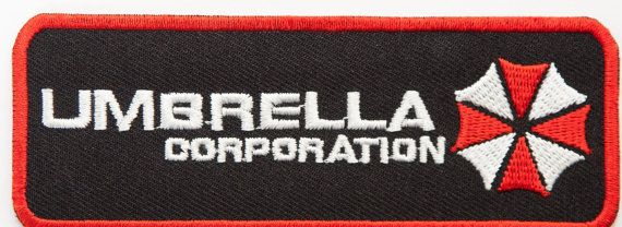 Umbrella Corporation Logo Patch Resident Evil Embroidered Iron on Badge Tactical…