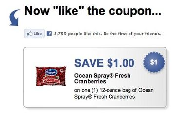 Get A 1 Off Fresh Cranberries Printable Coupon Via Ocean Spray Fresh Cranberries Printable Coupons Fresh