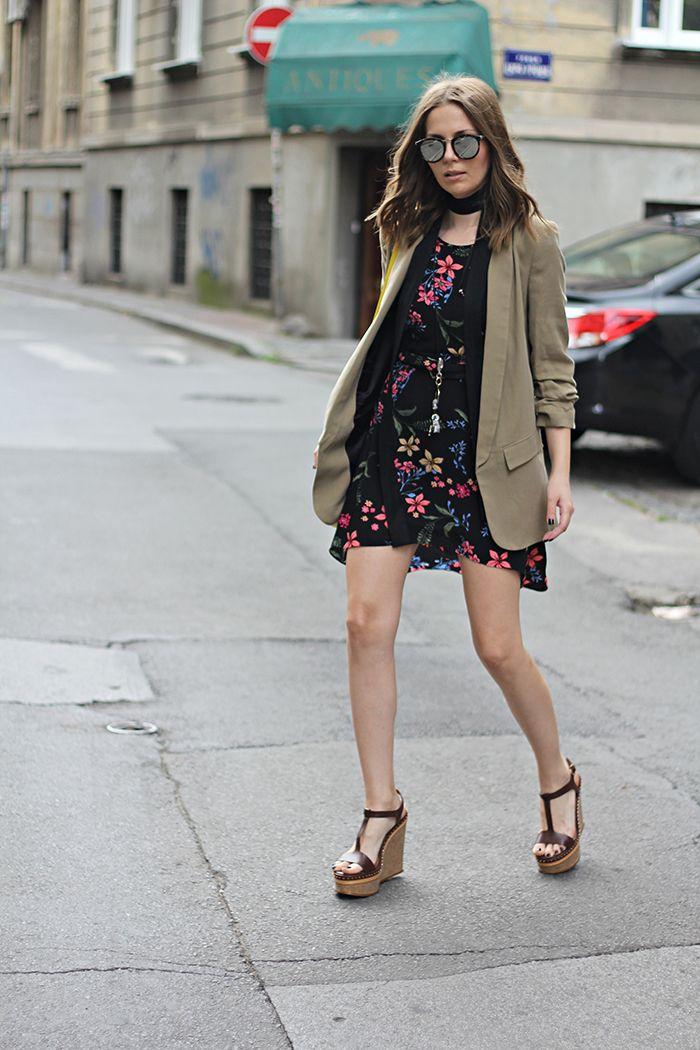 Fashion and style: Linen blazer