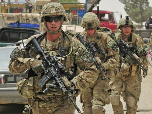 ISAF米軍アフガニスタン国際治安...