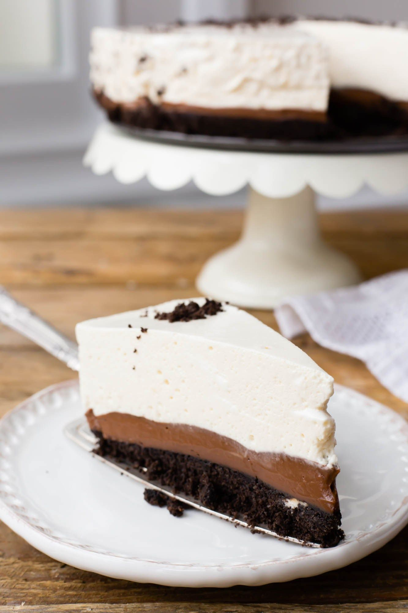 No Bake Oreo Kuchen Thermomix No Bake Oreo Pie Y U M M I E S Pinterest No Bake