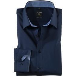 Photo of Olymp No. Six shirt, super slim, urban kent, navy, 36 olympymp