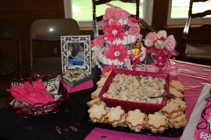 My great-nieces baby shower
