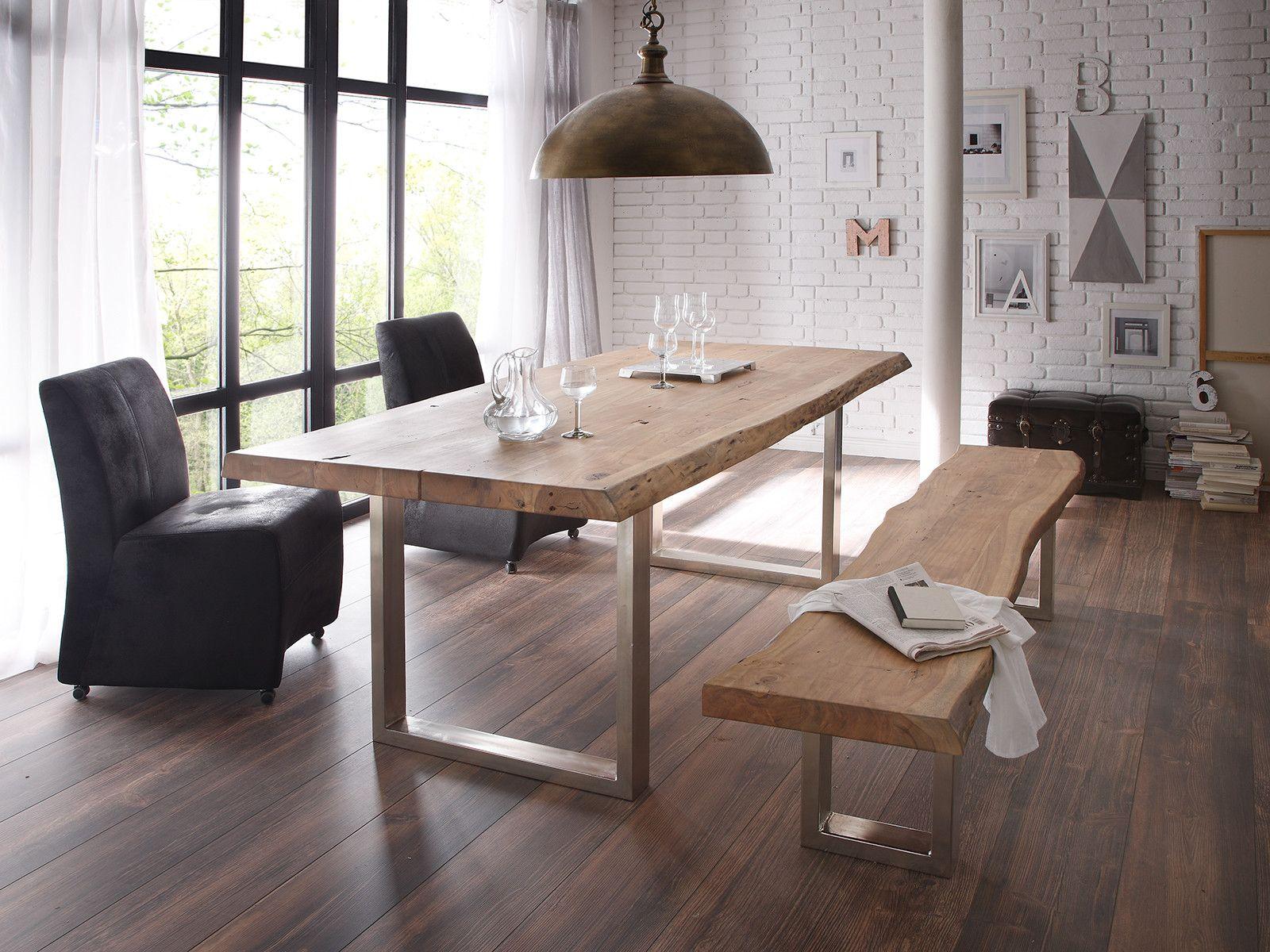 Baumtisch Kenai Ii Baumtisch Haus Deko Baumkantentisch