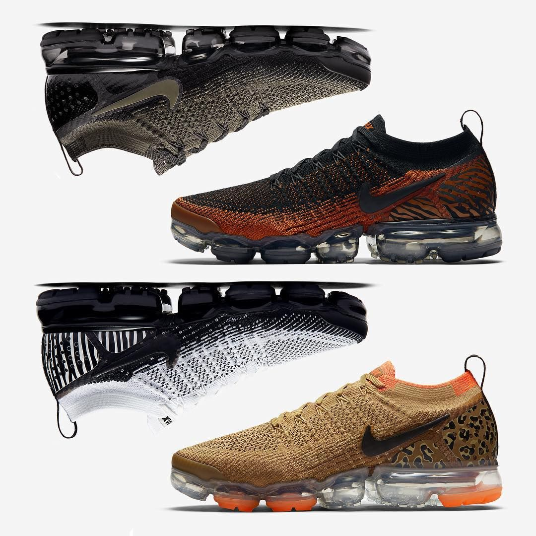 4c3bd31809557 The inner animal emerges in the Vapormax Flyknit 2.0. Leopard