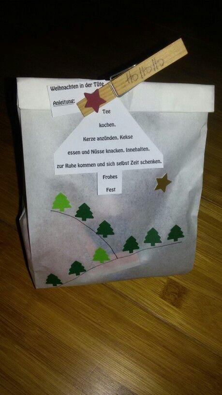 Kleine aufmerksamkeit zu weihnachten weihnachten - Geschenk erzieherin weihnachten ...