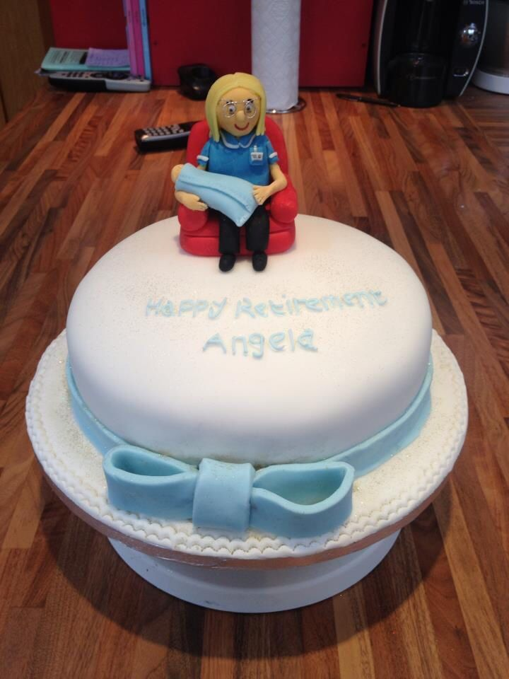 Midwife Cake Cakes Pinterest Cake 90th Birthday Cakes And