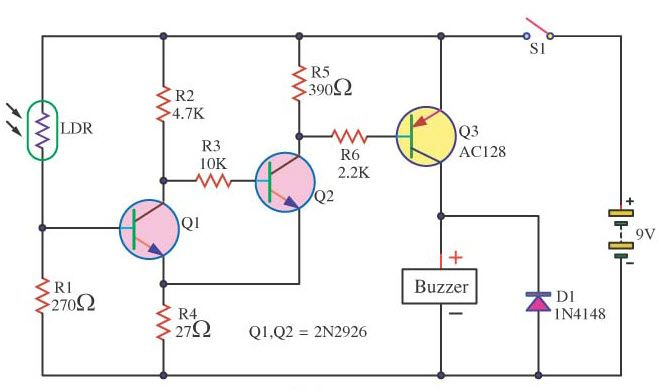 LDR sensor circuit is an electronic component.It is used in 3D ...