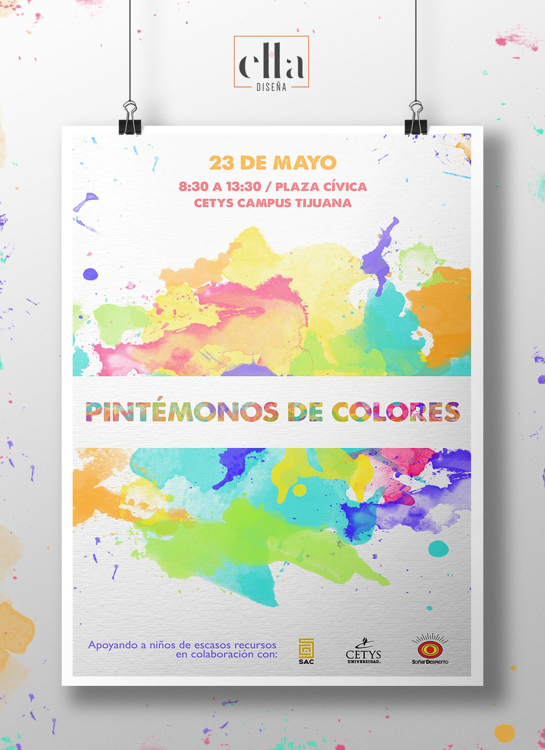 Pintémonos de colores on Behance