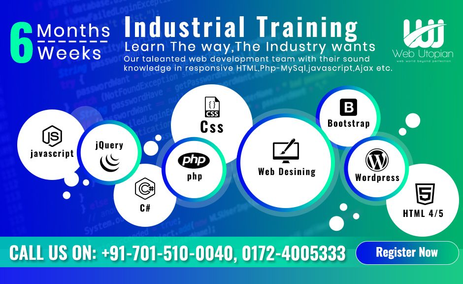 Best Company for Industrial Training in Mohali Web