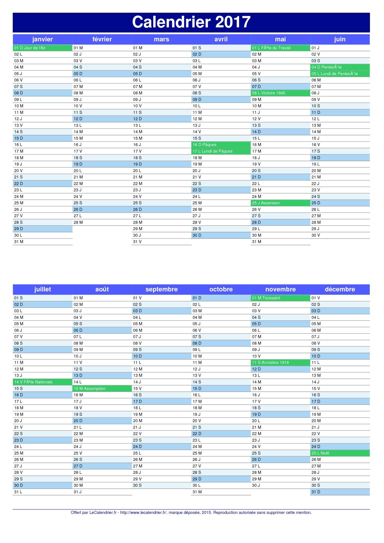 Calendrier 2017 avec jours f ri s en suisse et num ro des semaines apprendre pinterest - Calendrier lune septembre 2017 ...