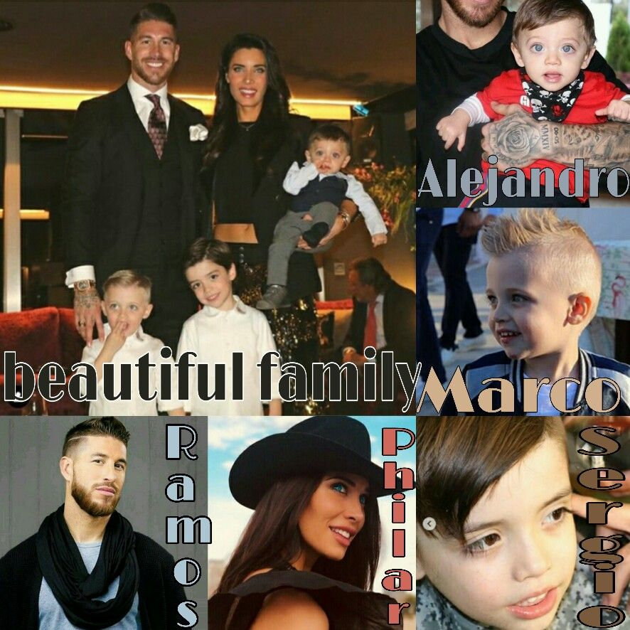 Ramos Family Captain Fantastic Real Madrid Captain Beautiful Family