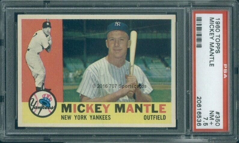 ernie banks baseball card 1960