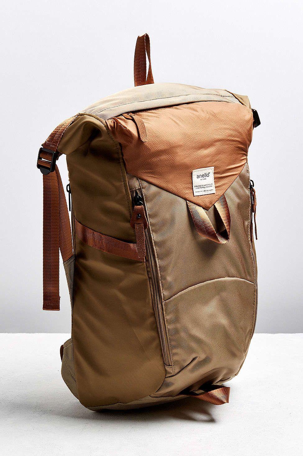 Anello Nylon Strap Backpack. Rucksack BackpackBag ...
