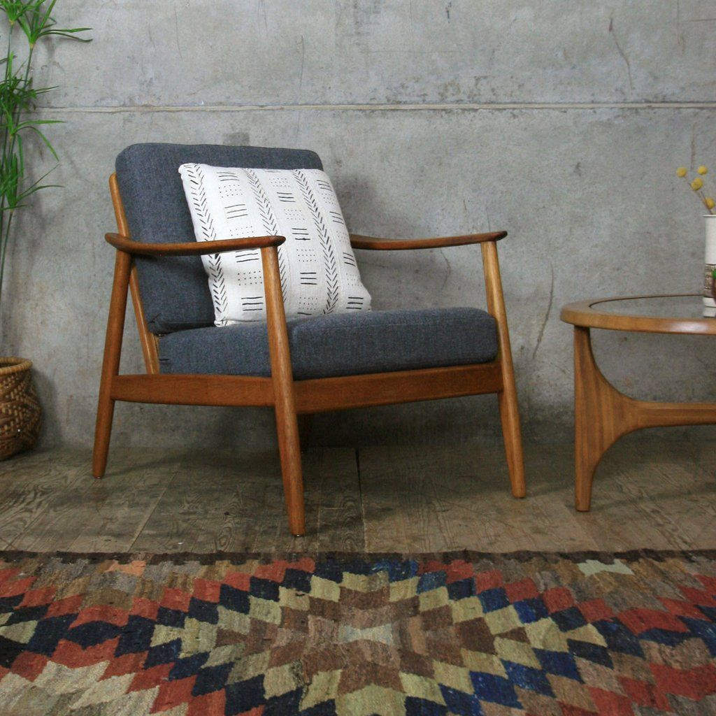 Vintage Swedish Teak Armchair By Folke Ohlsson For Dux In 2020 Teak Armchair Scandinavian Furniture Retro Armchair