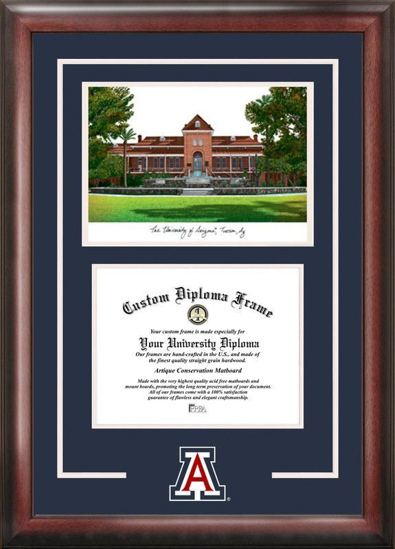 University of ArizonaSpirit Graduate Frame with Campus Image
